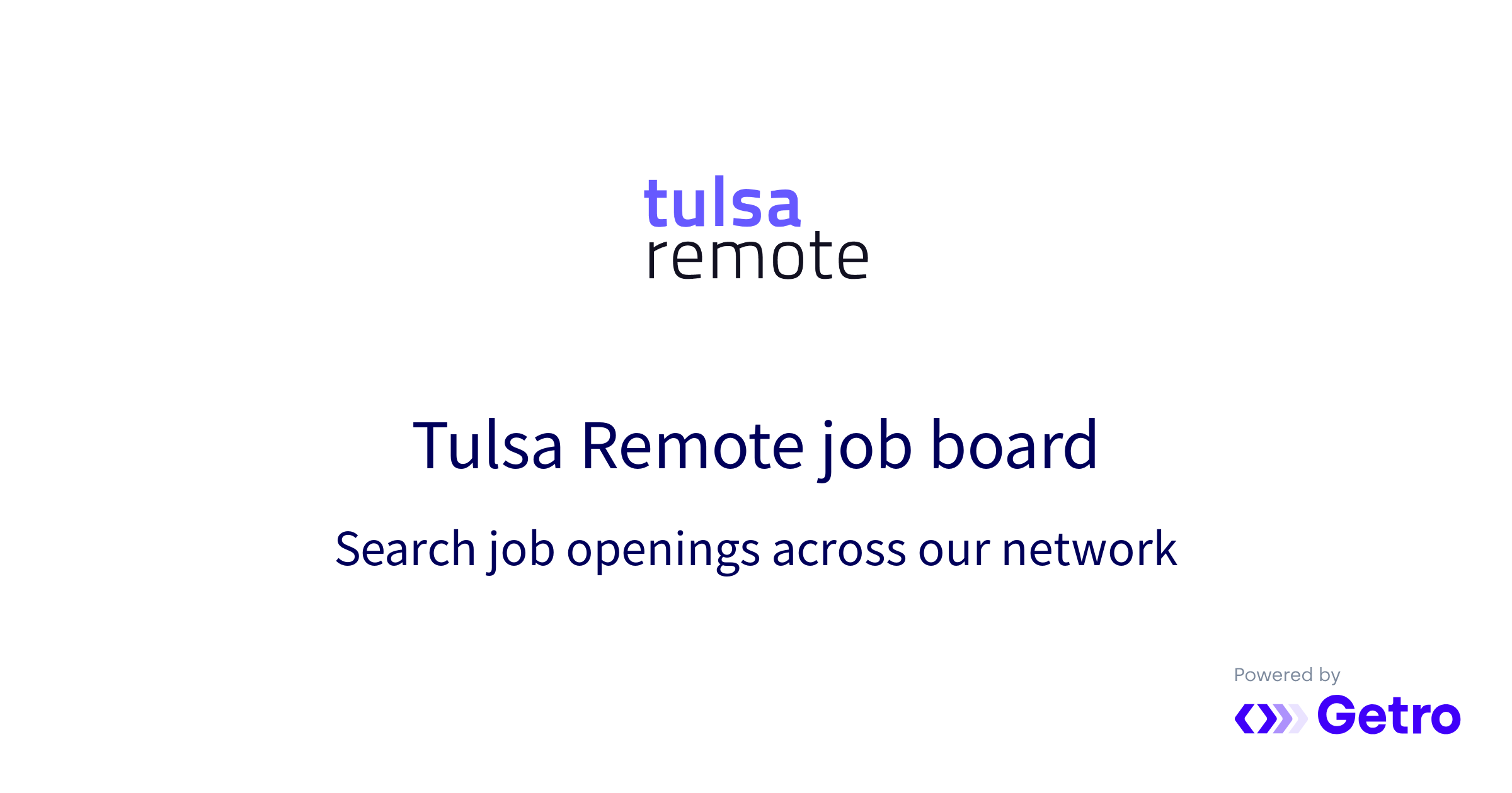 Jobs Tulsa Remote Job Board