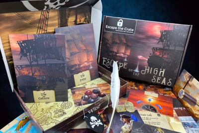 Escape the Crate: An escape room adventure shipped straight to your door. Photo 1