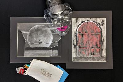 Charcoal Expressions Drawing Box Photo 2