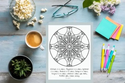 Photo for Box Insider article The Best Adult Coloring Book Subscription Boxes to Relieve Anxiety (2021)