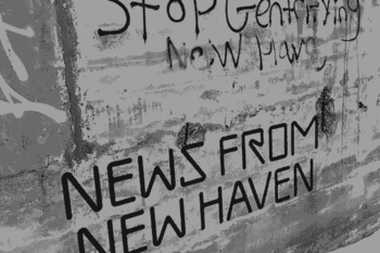 """Header image for Feb 2021 """"News from New Haven"""" newsletter."""