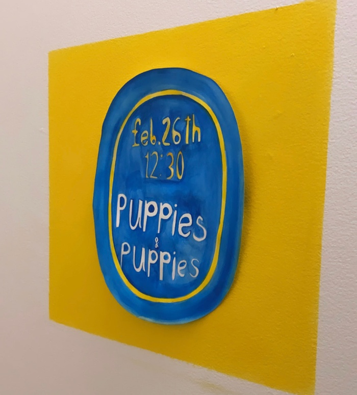 Poster for Puppies Puppies VA in Painting on Friday, Feb. 26 at 12:30PM