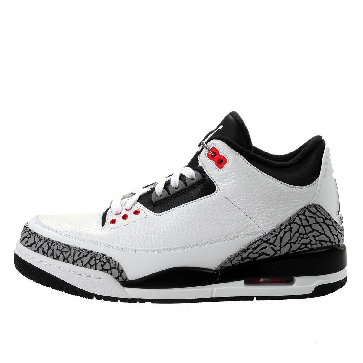 Air Jordan Nike AJ 3 III Retro Infrared 23