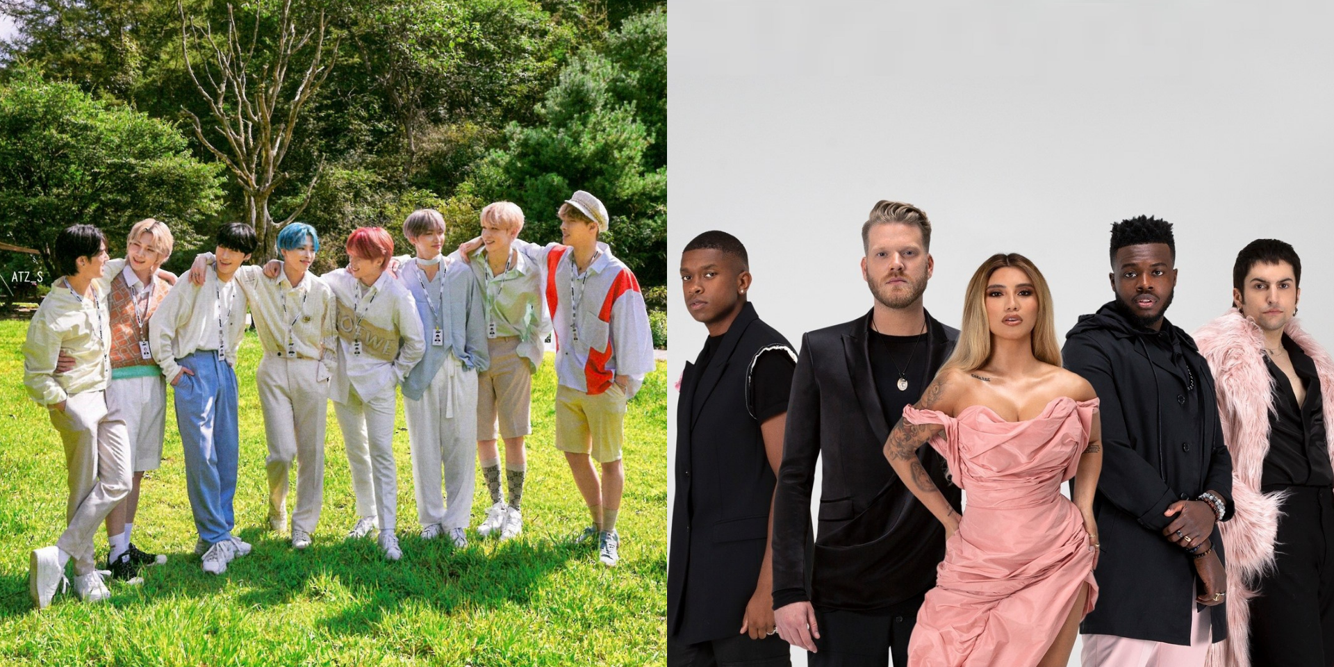 ATEEZ and Pentatonix unveil collaborative single 'A Little Space' with music video teaser - watch