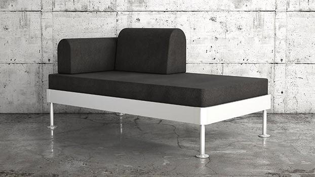 DELAKTIG säng/soffa Tom Dixon x IKEA