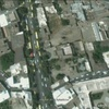 Tomb of Esther and Mordechai, Aerial View, Google Earth (Hamadan, Iran, 2011)