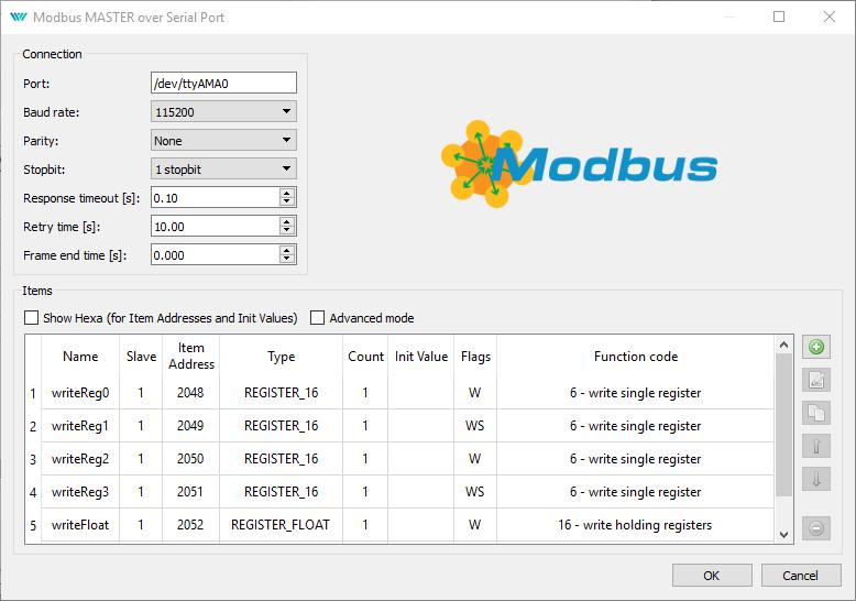 Modbus RTU with the Monarco HAT on Raspberry Pi
