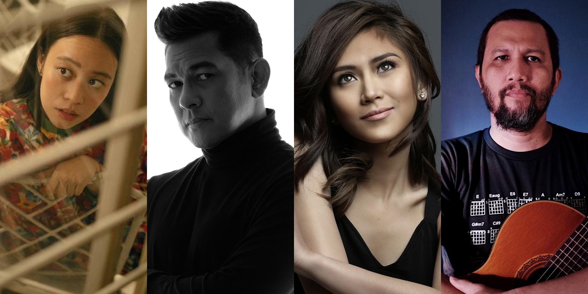 Reese Lansangan, Gary Valenciano, Sarah Geronimo, Johnoy Danao, and more release new music – listen