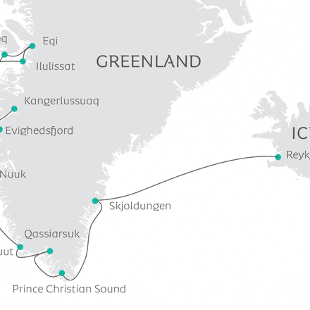 IN THE WAKE OF ERIC THE RED - FROM GREENLAND TO ICELAND