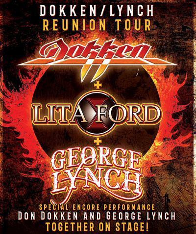 FOTF Concerts - Dokken with Lita Ford & George Lynch - July 16, 2021, doors 5:30pm