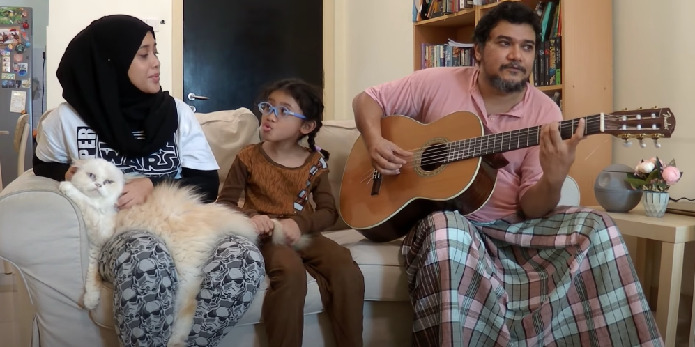 Chase your COVID-19 blues away with this Malaysian family's original blues tune – watch