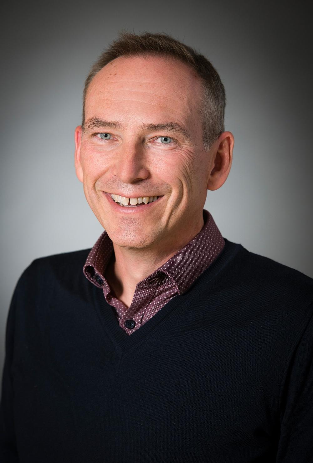 Anders Hast. professor i datoriserad bildbehandling. Forskningsprojektet Astrid Lindgren-koden. Foto: Eva Dalin