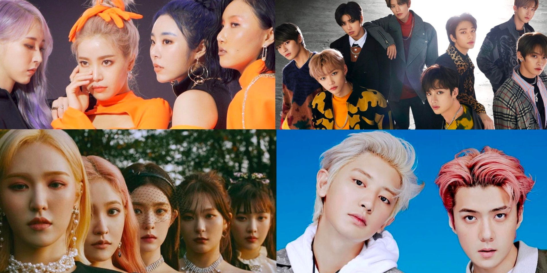4 highlights from Dream Concert's 'CONNECT:D' online show, featuring Red Velvet, Mamamoo, EXO-SC, and more