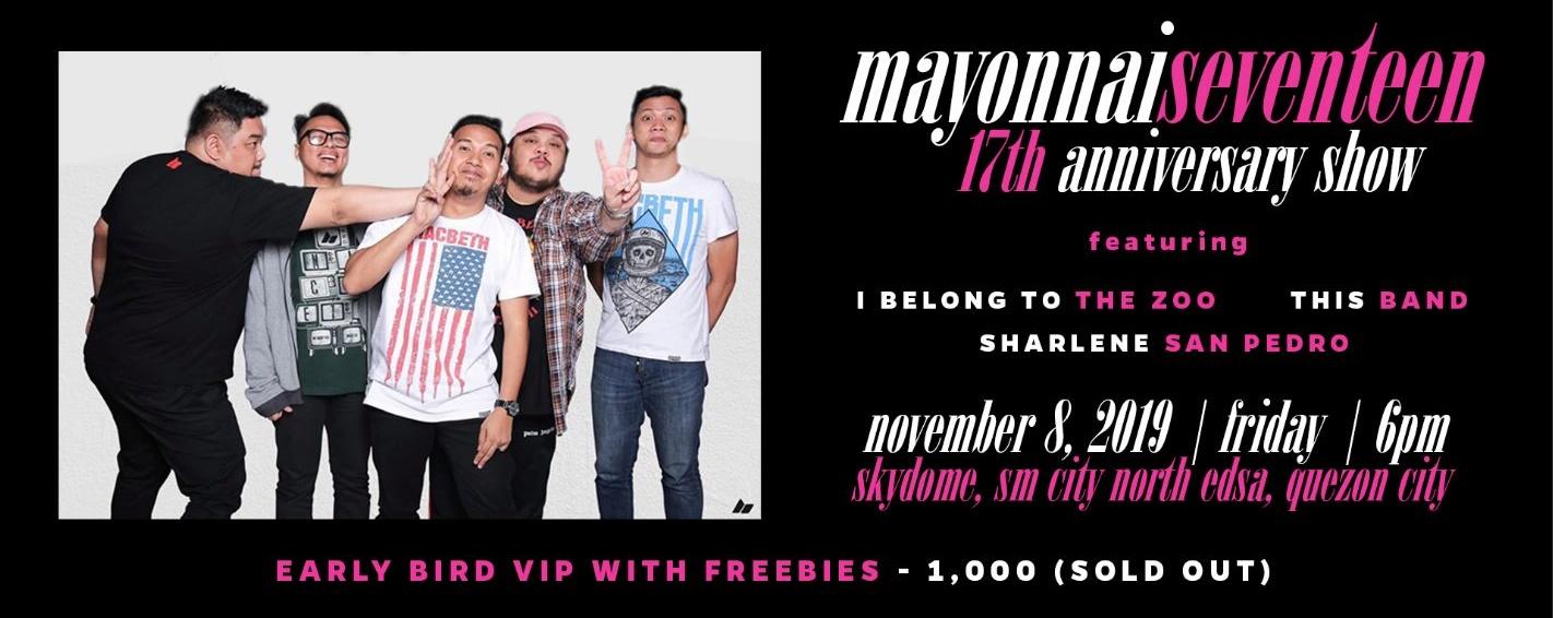 Mayonnaiseventeen: Mayonnaise 17th Anniversary Show