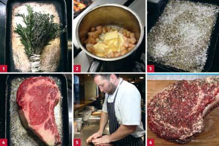 Beef rib prepare