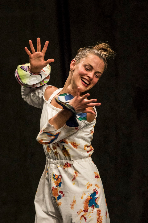 Dansare på bilden: Eva Mohn. Foto: Dajana Lothert.