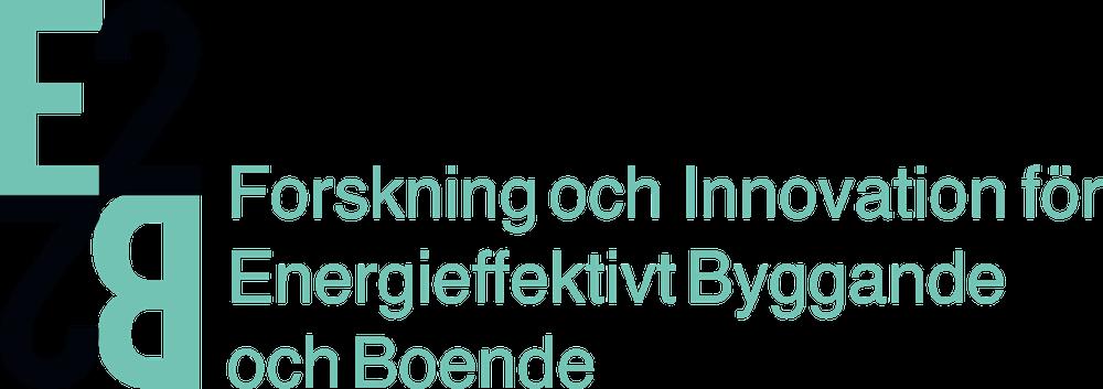 Logotyp för E2B2 - ett program från Energimyndigheten där IQ Samhällsbyggnad är koordinator