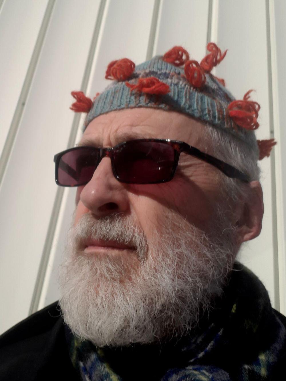 Björn Gimstedt, musiker och konstnär från Sundsvall har tilldelats Studieförbundet Bildas Mellanösternstipendium 2020.