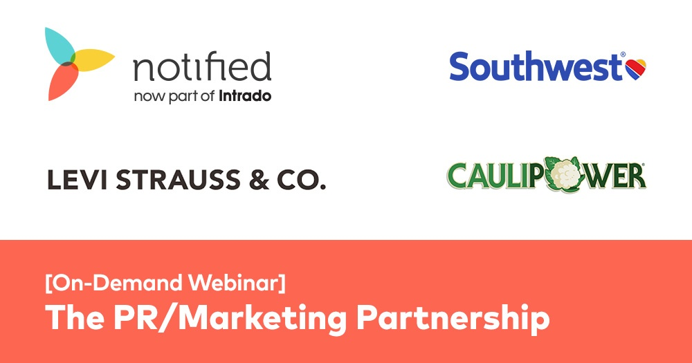 The PR and Marketing Partnership: On-Demand PRWeek Webinar
