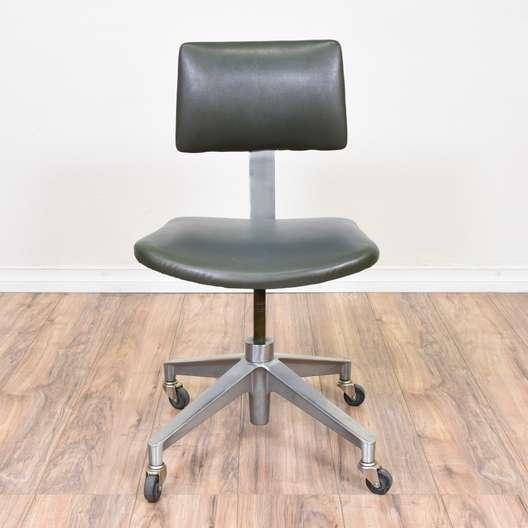 Industrial Metal Mid Century Modern Office Chair 2
