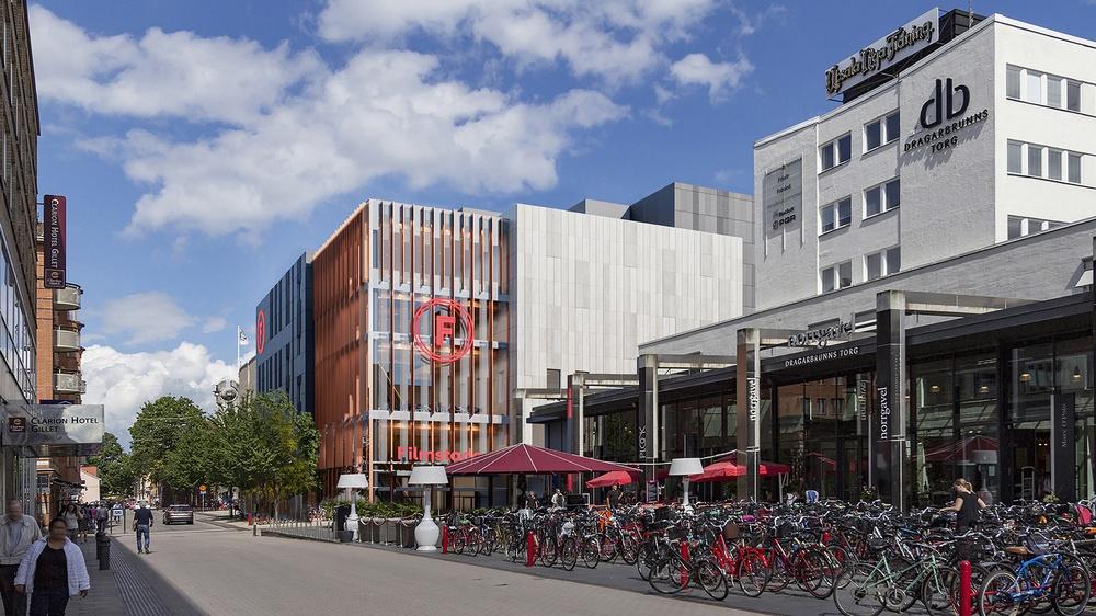 Filmstadens nya toppmoderna biograf på Dragarbrunnsgatan i Uppsala