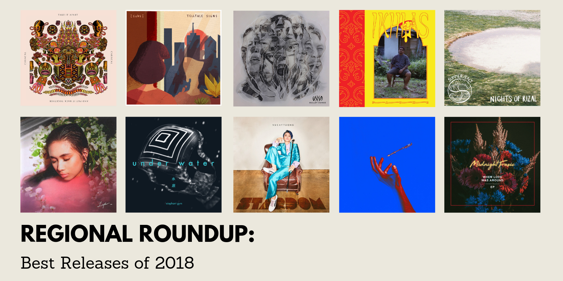 Regional Roundup: Best Releases of 2018