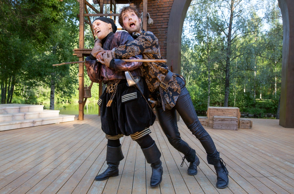 Sam - Johanna Malmin och Mercutio - Jacob Danielsson Fotograf: Patrick Degerman