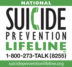 Suicide Prevention Lifeline 1800-273-8255