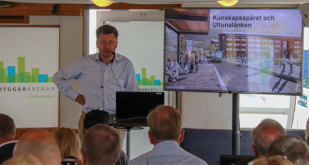 Patrik Hesselius från Uppsala kommun.