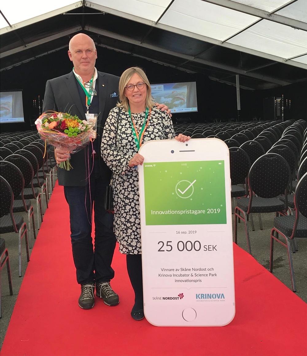 Årets Innovationspristagare Norups Gård Sven och Anne Norup
