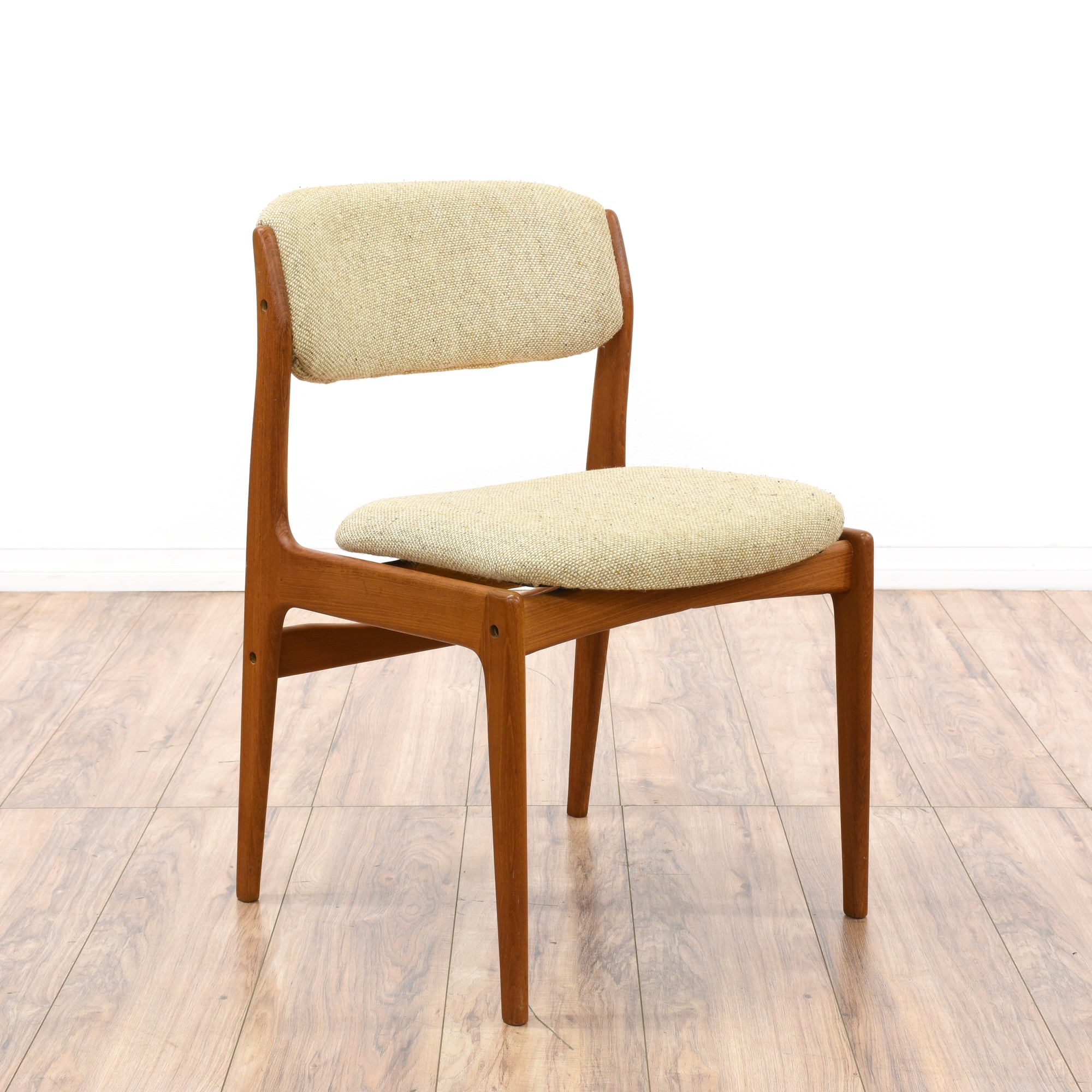 """Pair of """"Benny Linden"""" Danish Modern Dining Chairs"""