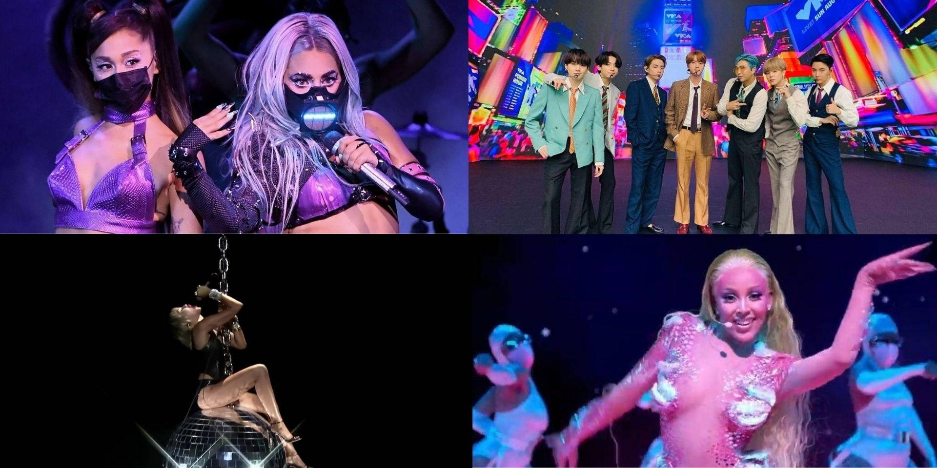 5 must-watch performances from the 2020 VMAs: Lady Gaga, Ariana Grande, BTS, and more