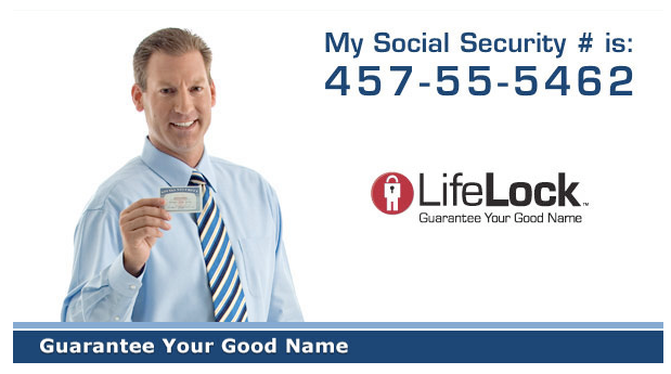 lifelock social security number ad