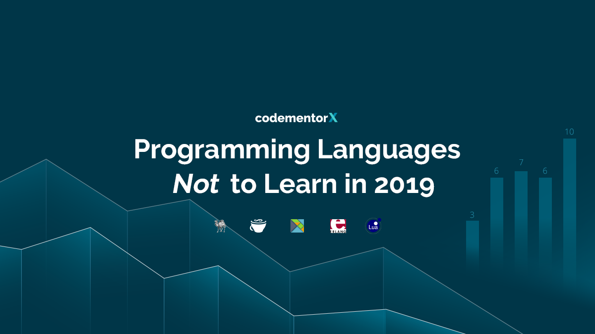 Study of Programming Languages Not to Learn in 2019