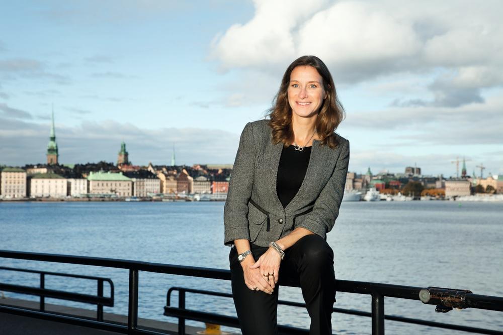 Magdalena Johansson, vd, Almi Halland