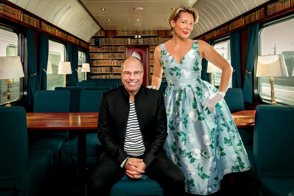 Författarporträtt: Marko T Wramén & Anna W Thorbjörnsson Foto: Marko T Wramén & Anna W Thorbjörnsson