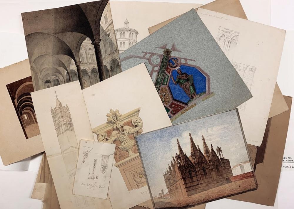 https://digitaltmuseum.se/owners/S-ARK eller våra intendenters Instagram-konto @ArkDes_collections: https://www.instagram.com/arkdes_collections/?hl=sv