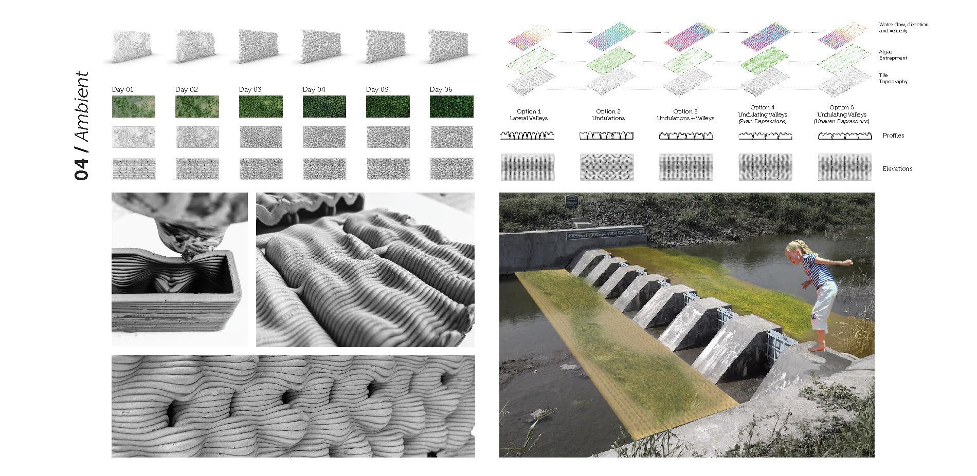 Algae Mitigation Tile Studies