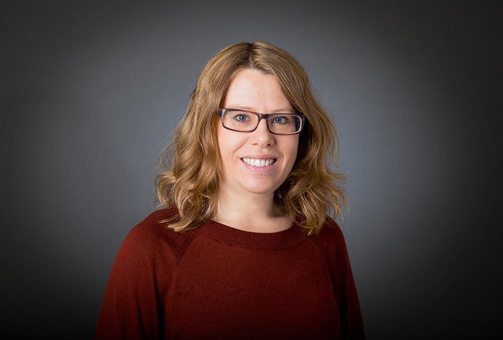 Kajsa Bäckius, systembibliotekarie, Sbi. Foto: Eva Dalin