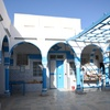 Courtyard 3, Slat Ribi Hizkia, Djerba (Jerba, Jarbah, جربة), Tunisia, Chrystie Sherman, 7/8/16