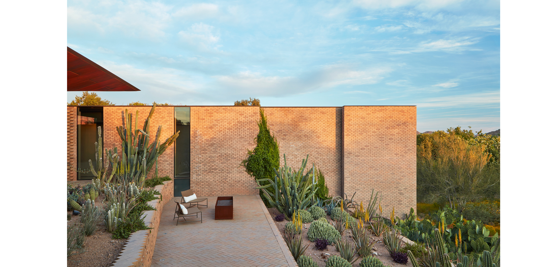 Terraced Planters and Patio