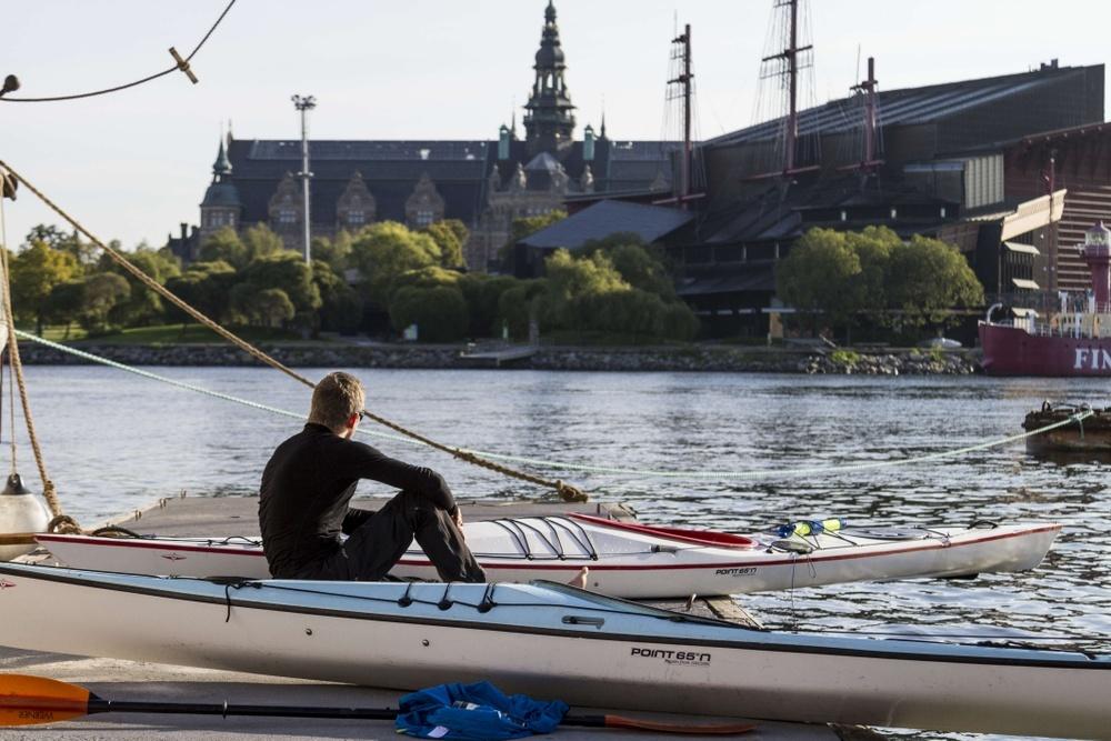 Sommar kajak Stockholm skärgård