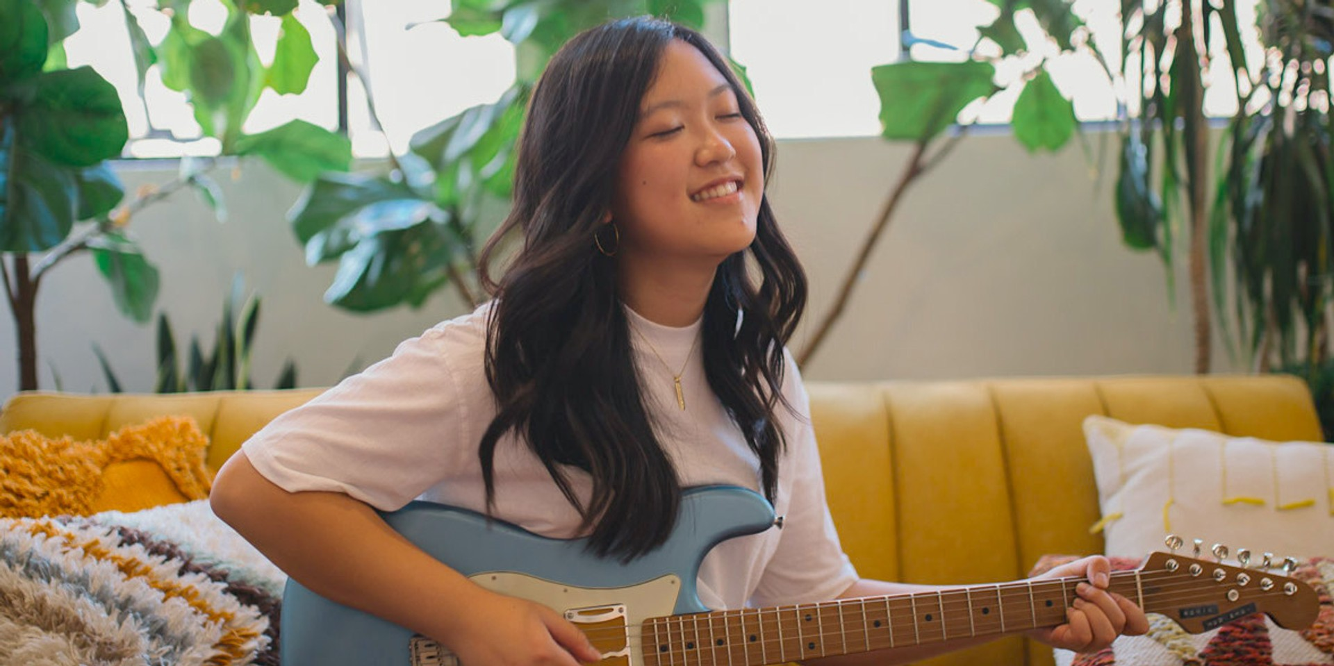 Meet Tiana Ohara, the 22-year-old guitarist who's ready to conquer the world