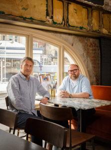 Simon Anderson and Andy Lewis-Pratt market halls 3