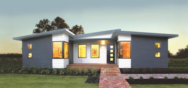 Coastal Modular home design by TR Homes