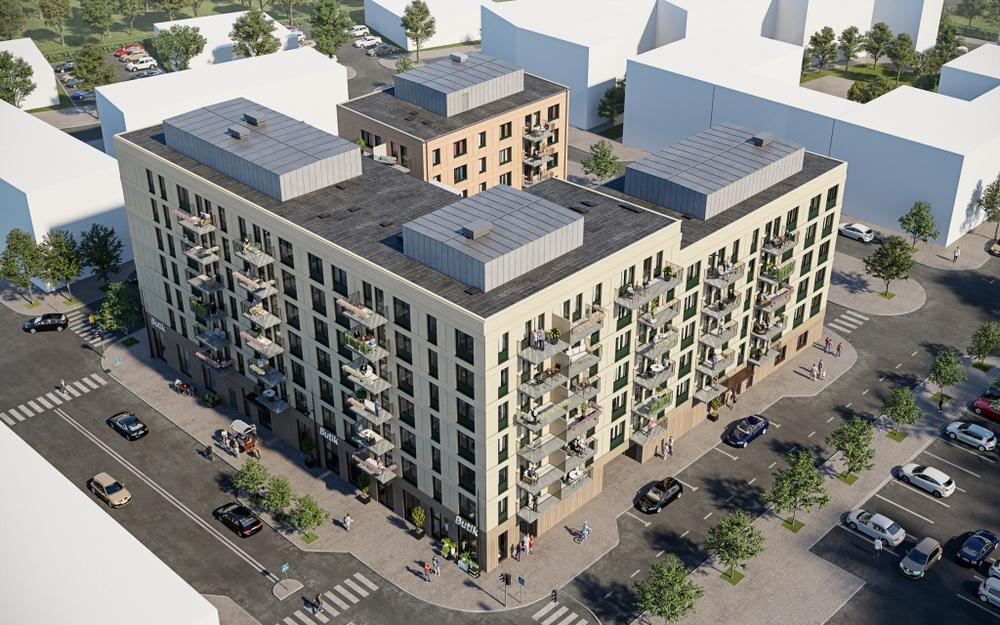 Brf Gnistra är Ikano Bostads första flerbostadshus att byggas enligt Svanen och kommer att bestå av 115 bostadsrätter.