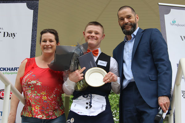 William Wallace Foxes Academy, winner of the fastest student prize