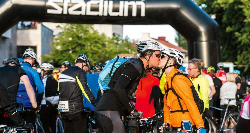 Vätternrundan och Stadium förlänger samarbetet.  Foto: Petter Blomberg/Vätternrundan