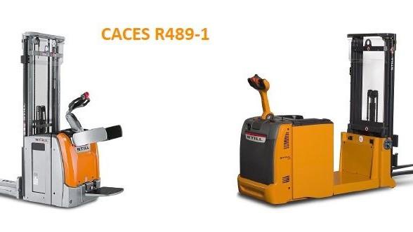 Représentation de la formation : CACES® R489 catégorie 1