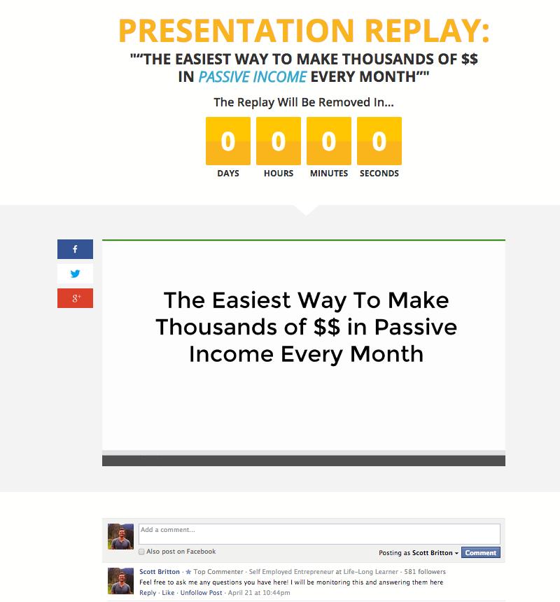 presentation replay